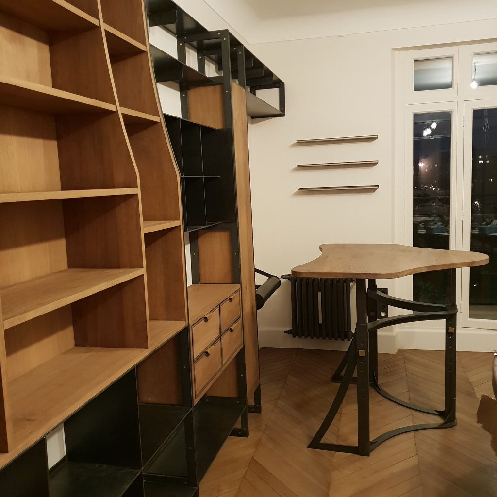 Private Appartment Paris Library